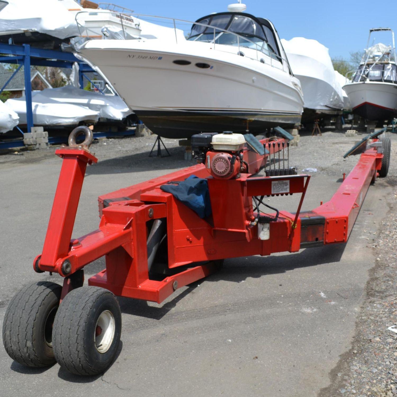 Handling trailer / shipyard / hydraulic - Y-10