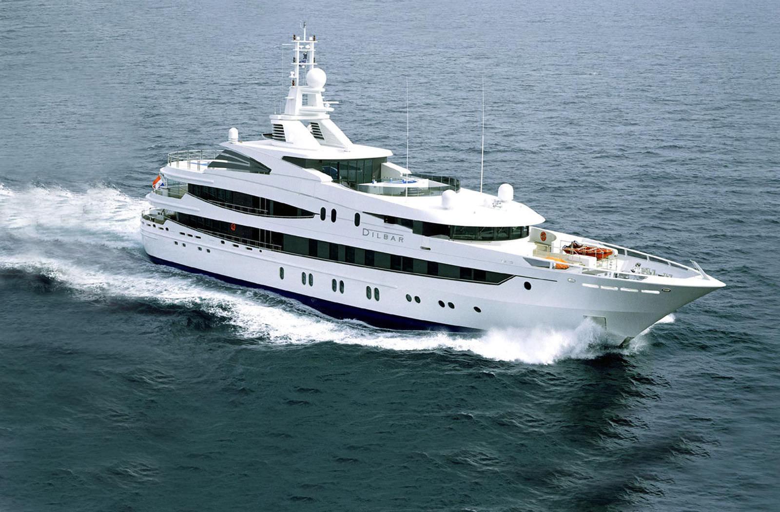 Cruising Mega Yacht Wheelhouse Flybridge Steel Luna B Oceanco