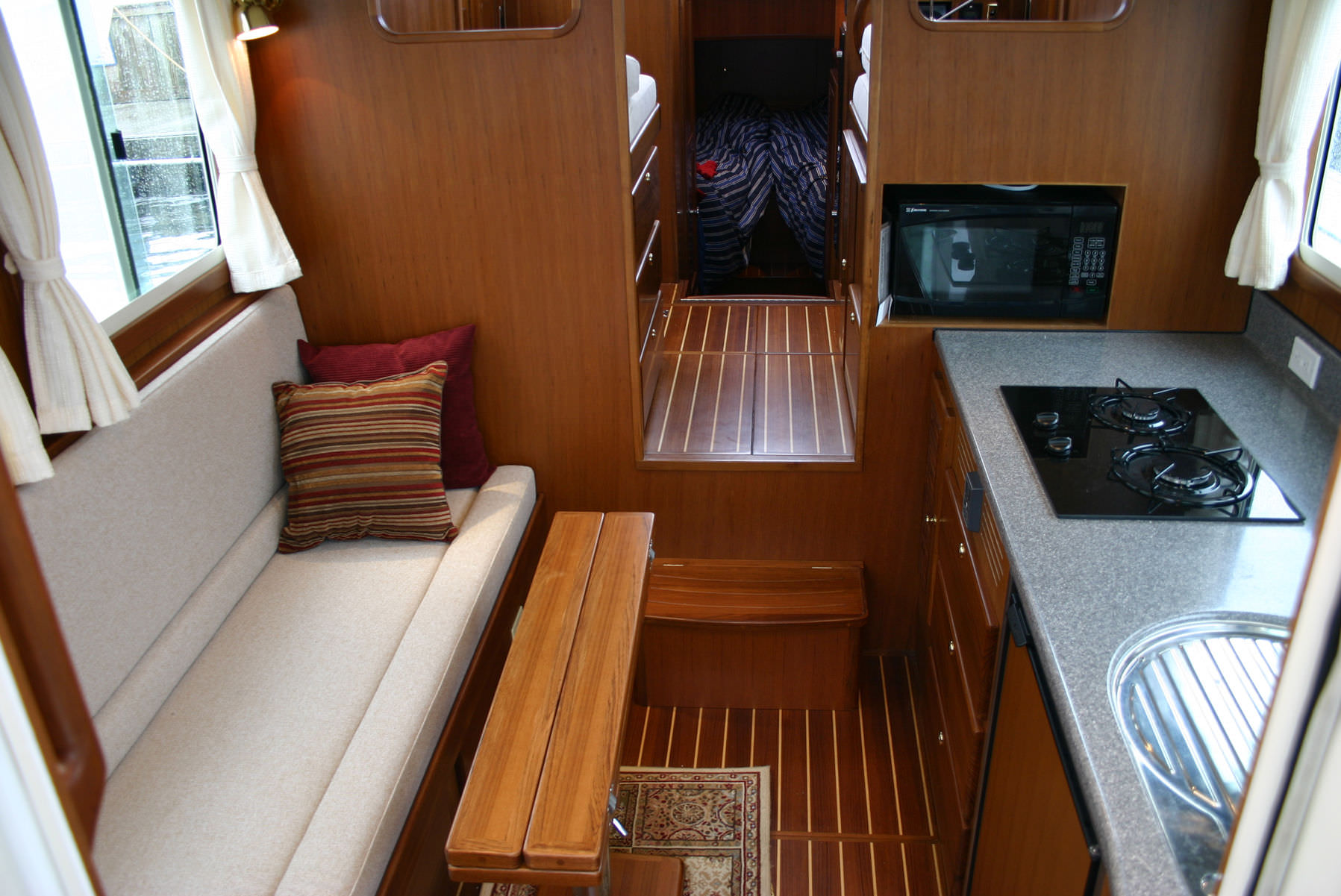 Trailer Trawler 28 - Power Cruiser/Trawler Yacht - Boat Plans ...