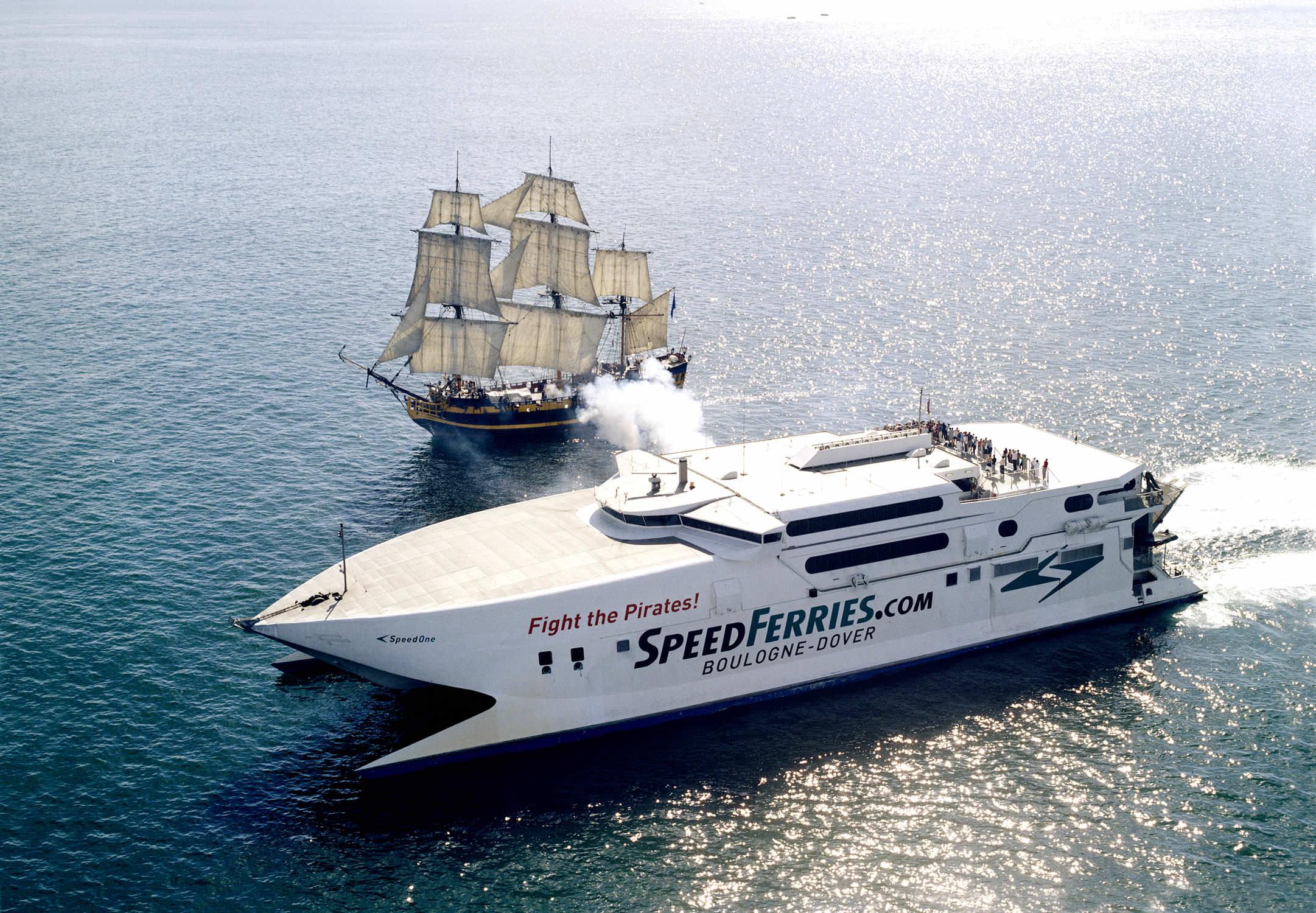 High Speed Car Ferry Catamaran Condor Rapide Incat