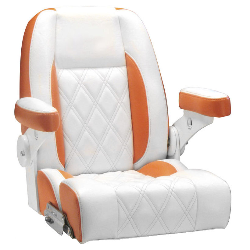 Bucket seat / for boats / with armrests / fold-down - BILLFISH ...