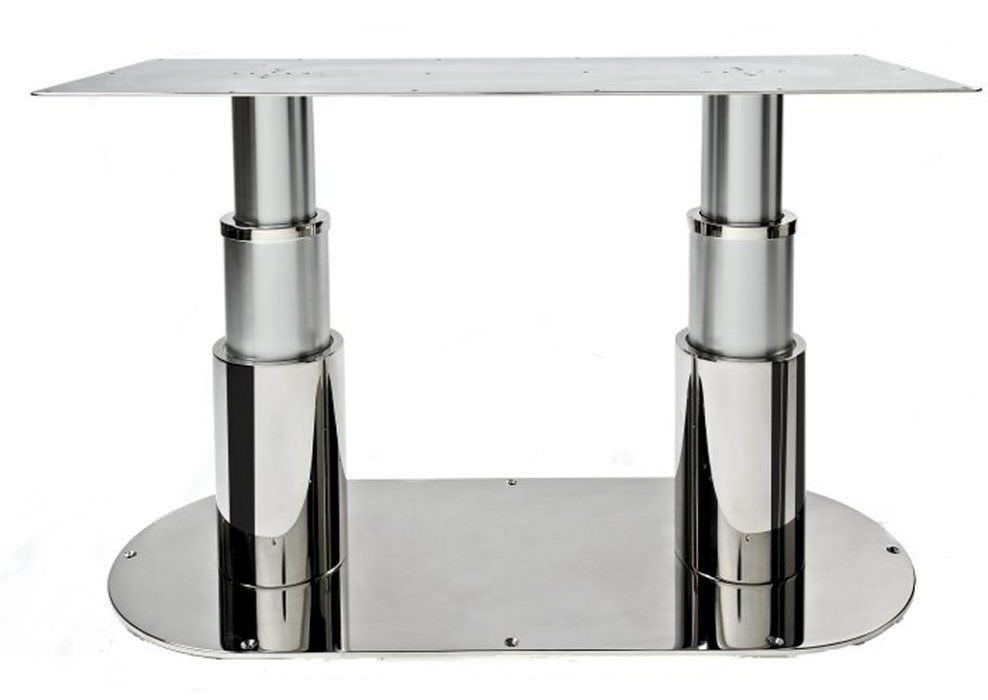 Adjustable Boat Table Pedestal / Electric / Stainless Steel   20.18898B2 / 2