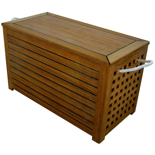 Beau Boat Teak Trunk   STORAGE CHEST | SC703540