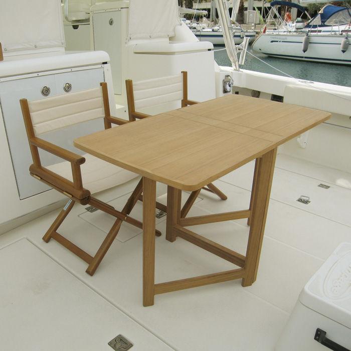 ... Boat Side Table / Folding / Teak FTZLT 144 X 78 Cm   FTZRT 122 X