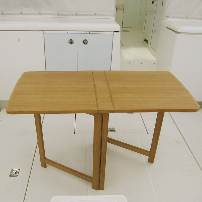 ... Boat Occasional Table / Folding / Teak ...