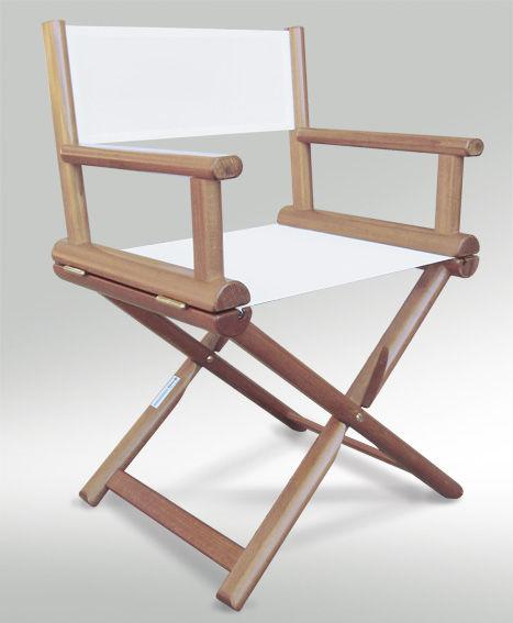 Boat directors chair folding wooden OVAL Valdenassi – Directors Folding Chair