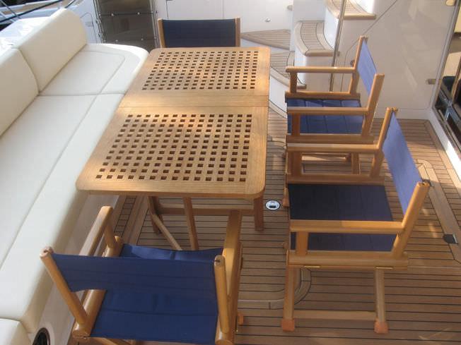 Beautiful ... Boat Side Table / Folding / Teak FTZR Regular Valdenassi ...
