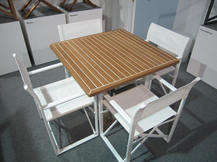 Teak table top - Piani tavolo in teak su misura - Valdenassi