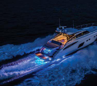 underwater boat light / led / through-hull / for wooden hulls - qt, Reel Combo