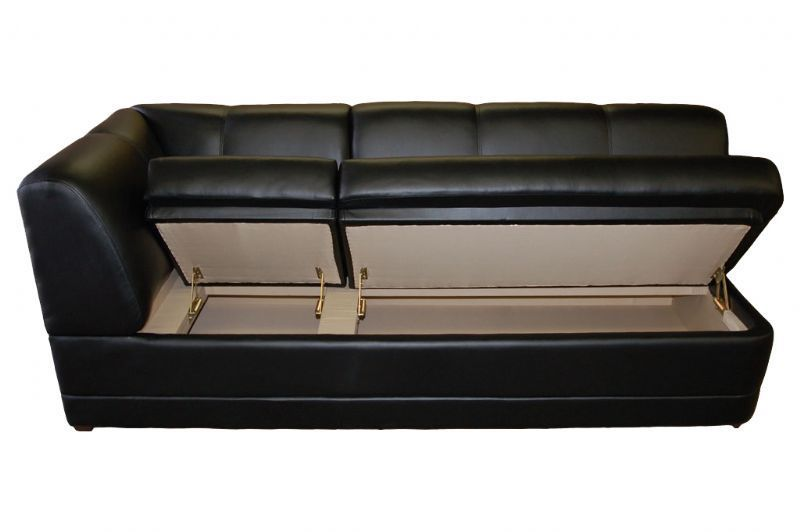Yacht Sofa 3 Seater With Storage Compartment Custom