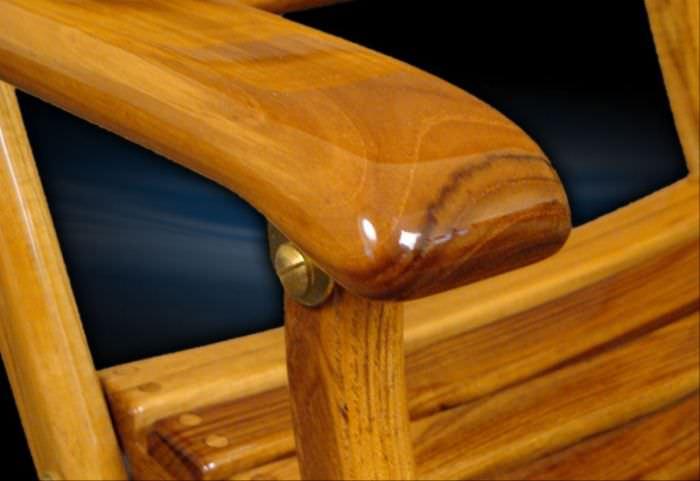 Superbe ... Standard Boat Chair / Folding / Teak