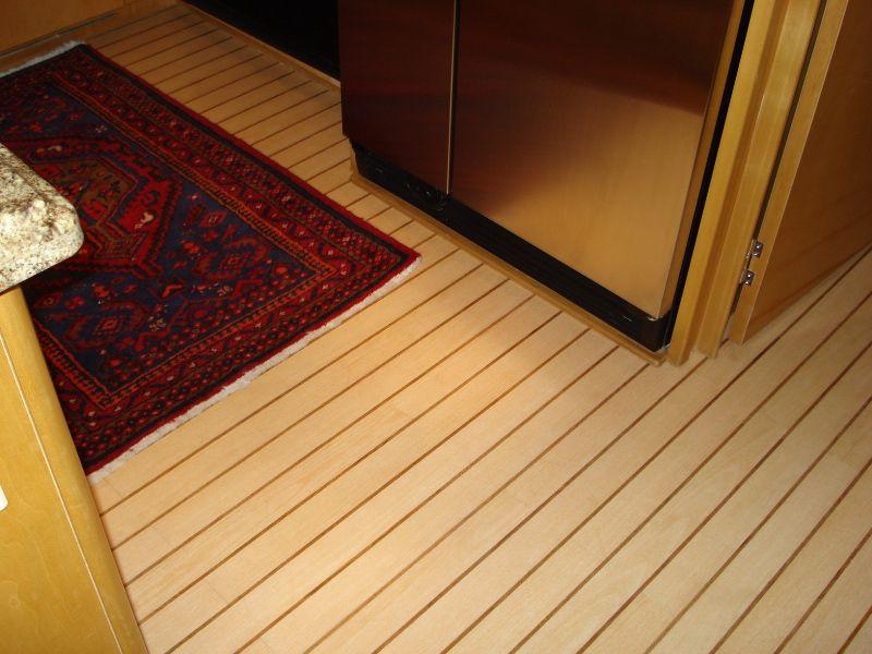 interior floor panel / teak - teak & holly - nuteak decking