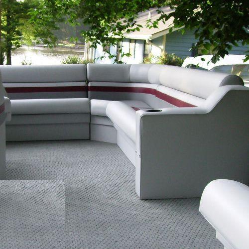 Pontoon Boat Bench Seat / Corner   P205