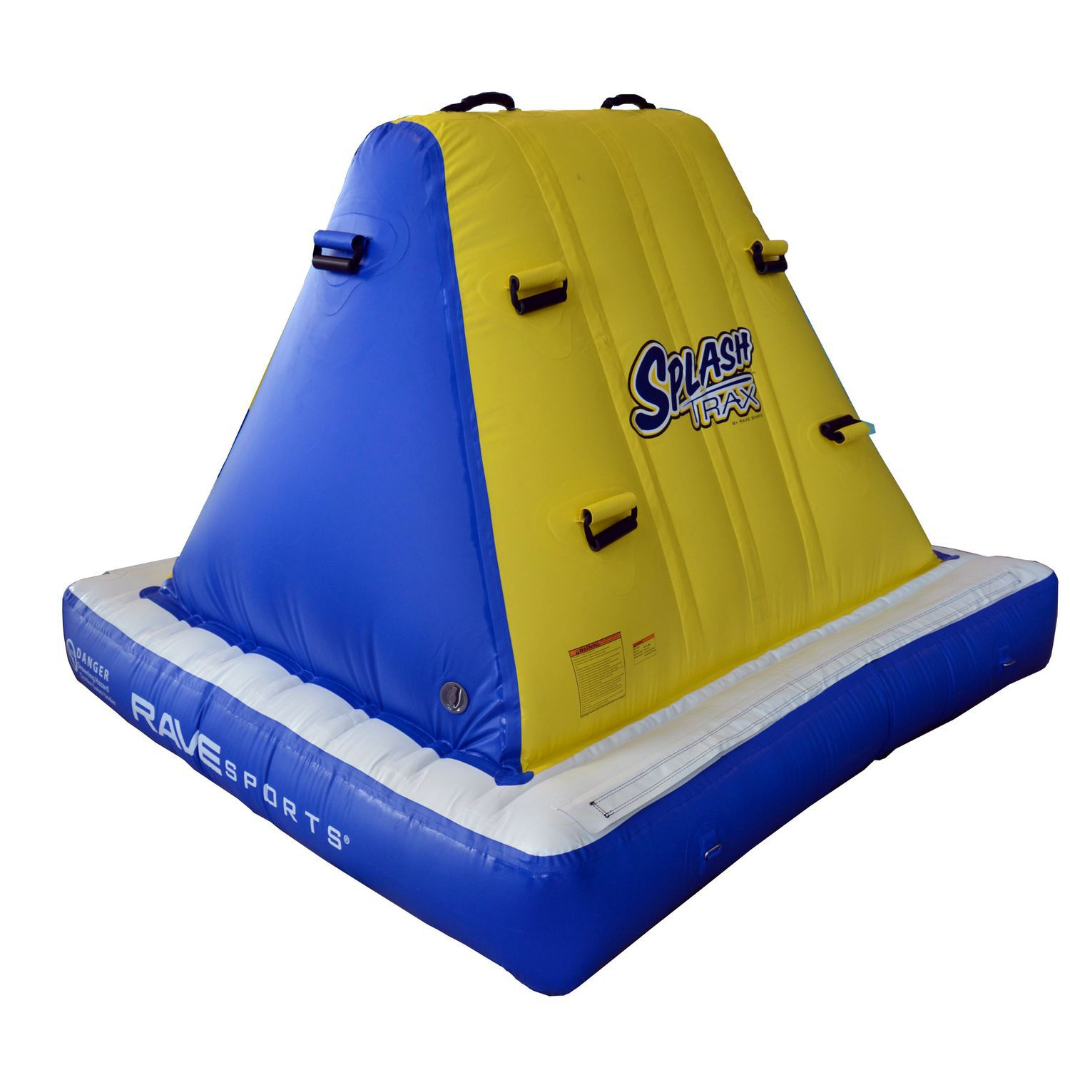 Pyramid water toy climbing wall inflatable Splash Trax