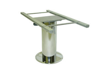 Adjustable Boat Table Pedestal / Stainless Steel   TABLETOP SLIDE