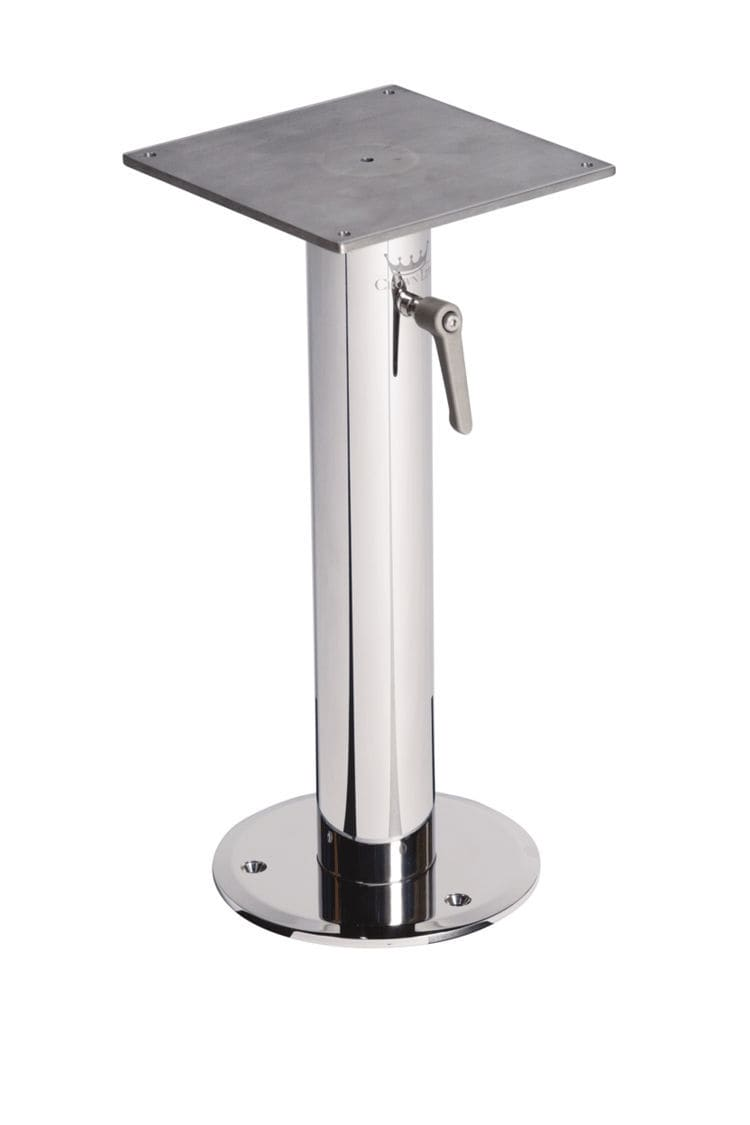 Delicieux Adjustable Boat Table Pedestal / Stainless Steel ...