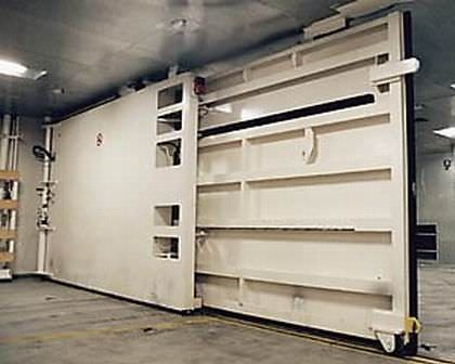 sliding garage doorShip door  sliding  interior  garage  TTS Marine