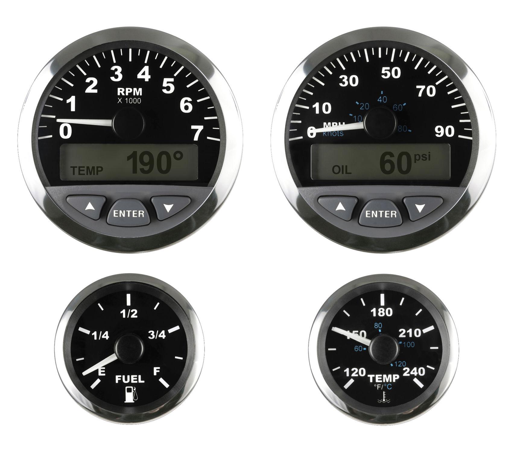 Boat Indicator Monitoring Digital Og Matrix