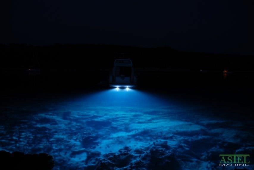 underwater boat light / led / through-hull - plaque mfm0680, Reel Combo