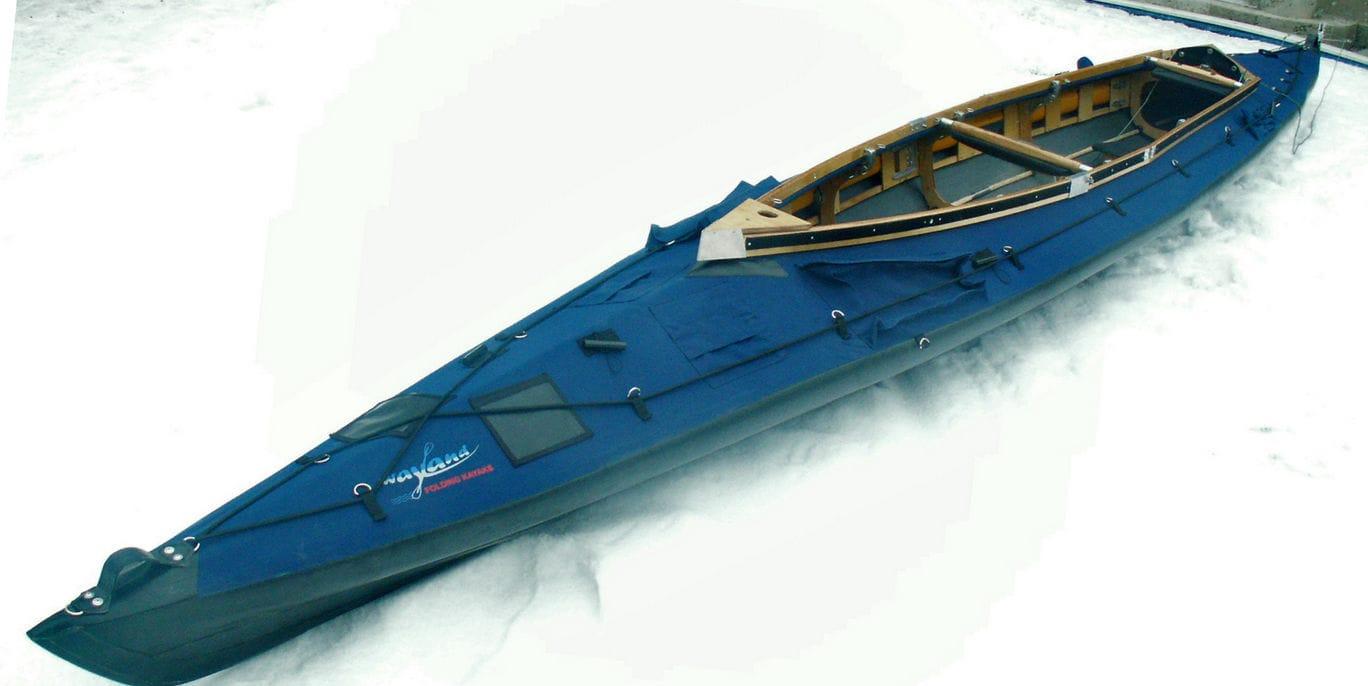 Folding kayak / sea / expedition / two-seater - AMAZON II 600 XXL