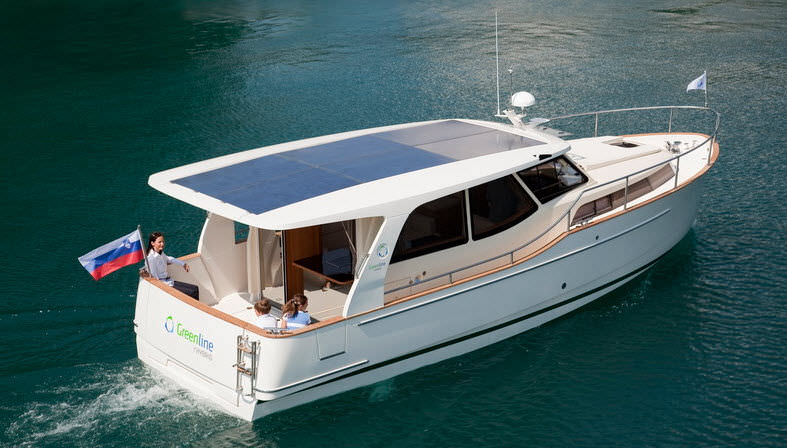 High Quality Solar Electric Powered Express Cruiser / Hybrid / Downeast / 1 Cabin ...