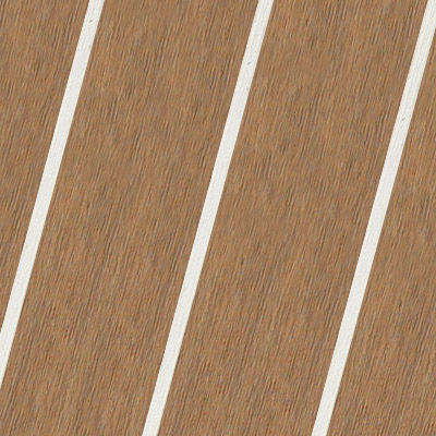 Boat Decking Panel Synthetic Teak Laminate Traditional Elite