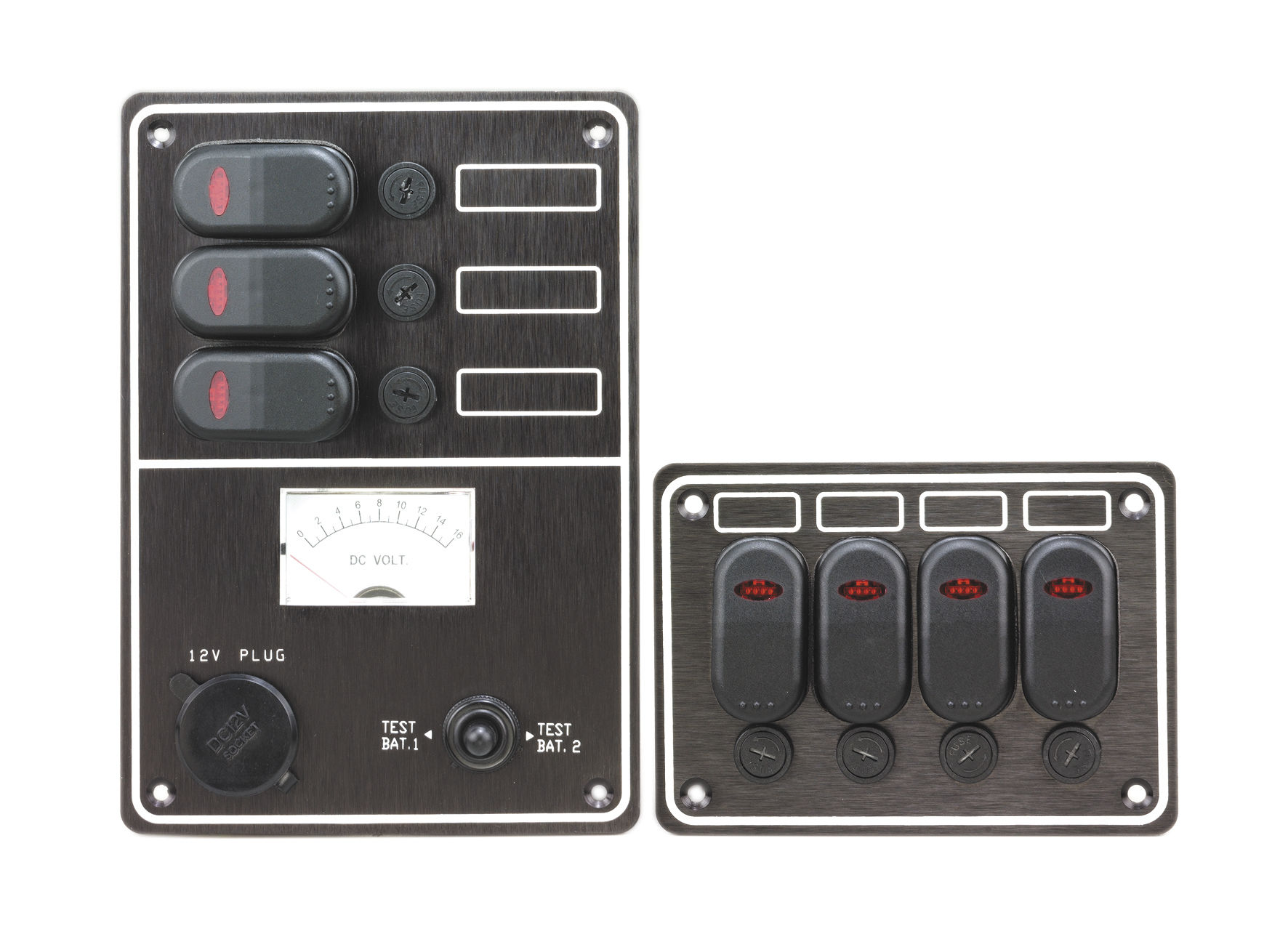 boat control panel / electrical circuit / with waterproof fuse holder -  10036-bk & 10047-bk