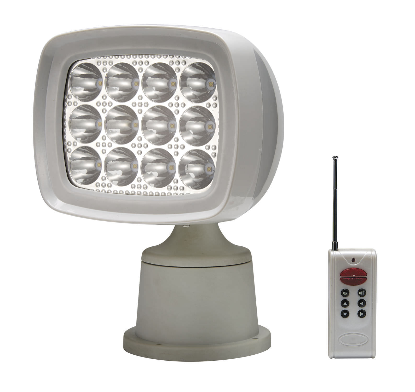 Deck floodlight led remote controlled 01662 wh aaa world deck floodlight led remote controlled 01662 wh aloadofball Gallery