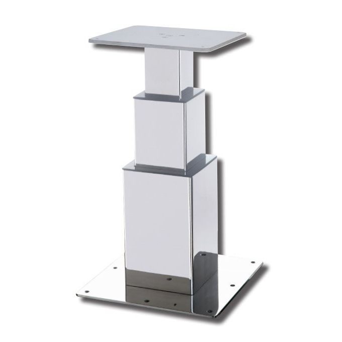 Electric Boat Table Pedestal / Telescopic / Stainless Steel   TOWER