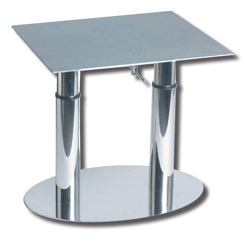 Adjustable Boat Table Pedestal / Telescopic / Aluminum / Stainless Steel    EASY TWIN