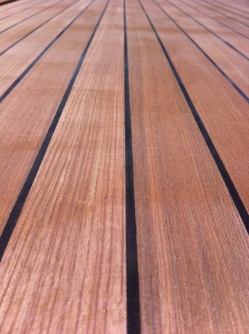 Decorative panel / boat decking / teak / for yachts - IL CANTIERE ...