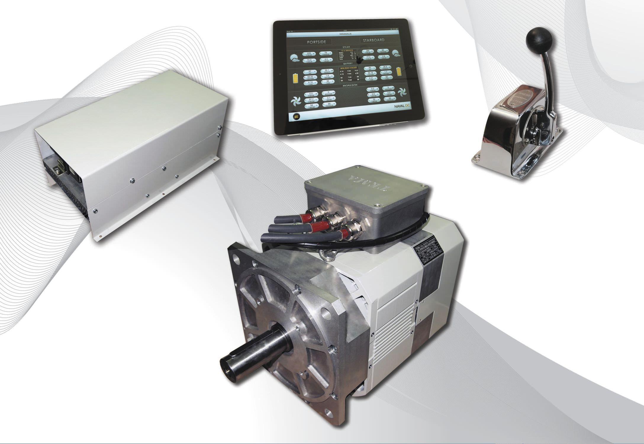 Ship engine / inboard / electric / permanent magnet - SPM132