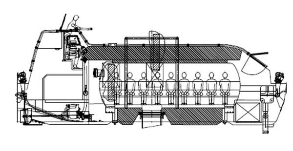 Hyperbaric Totally Enclosed Lifeboat For Ships For Ships