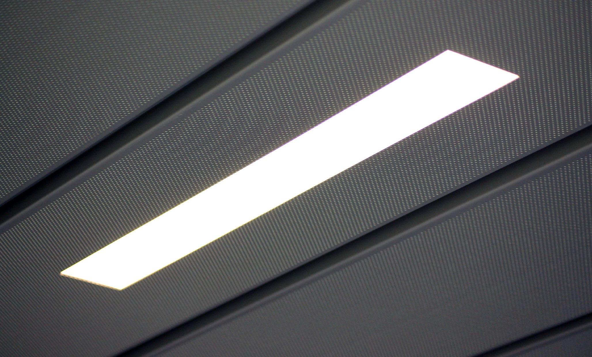 Indoor ceiling light for ships cabin led slim