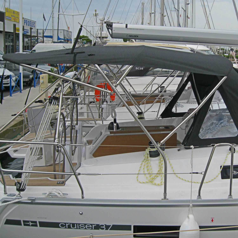 sailboat bimini top cockpit stainless steel frame bimini top
