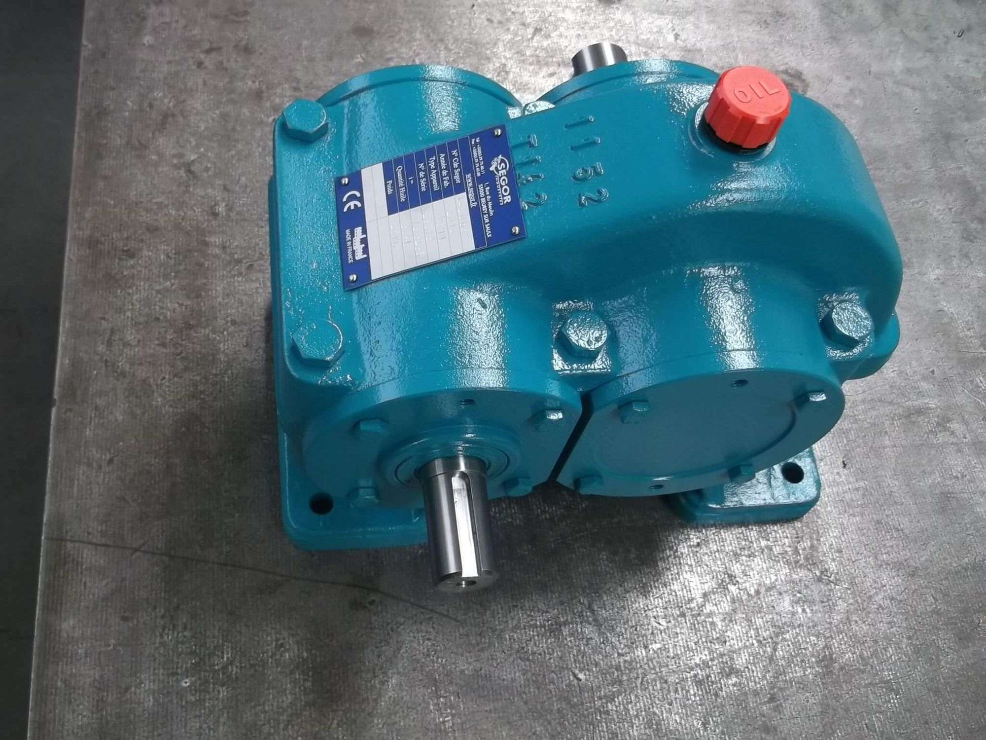 Ship reduction gearbox / for boats / engine - SEGOR INDUSTRIES