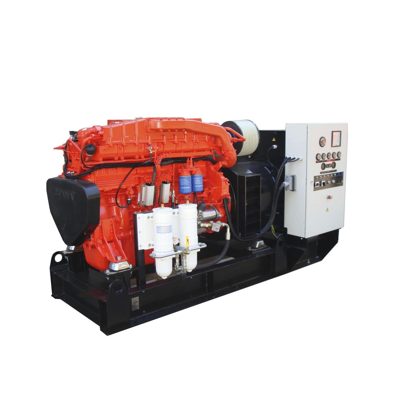 Ship generator set sel auxiliary SCANIA engine based