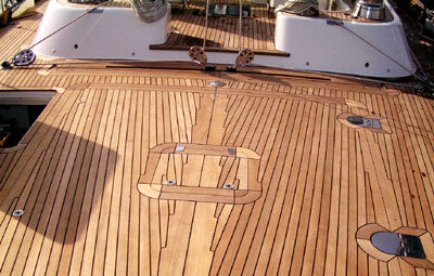Boat Decks Products Ltd Boat Decking Panel / Teak