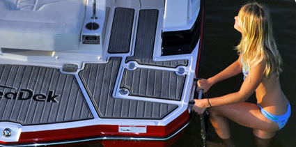 Boat Swim Decks Non-slip Boat Decking Swim