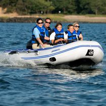 Outboard inflatable boat / foldable / 6-person max.