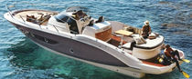 Inboard walkaround / twin-engine / 10-person max. / with cabin