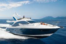 Cruising motor yacht / flybridge / planing hull / 7-berth