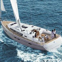 Cruising sailboat / open transom / with 3 or 4 cabins / 6-berth