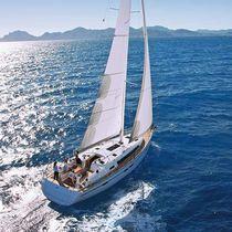 Cruising sailboat / open transom / 3-cabin / 6-berth