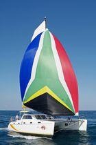 Catamaran / cruising / open transom