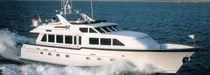 High-speed motor yacht / flybridge / displacement