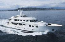 Classic super-yacht / raised pilothouse / custom