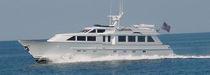Cruising motor yacht / flybridge / displacement