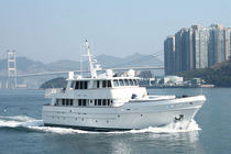 Offshore motor yacht / explorer / raised pilothouse / fiberglass
