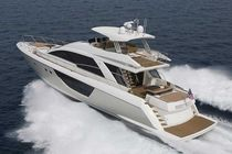 Sport motor yacht / flybridge / planing hull / with 3 or 4 cabins